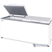 Морозильный ларь Снеж МЛК-800 (650л) глухая крышка