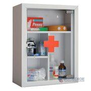 Аптечка медицинская со стеклом